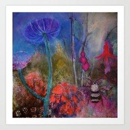 BEE  PARADISE Art Print