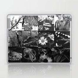 Greyscale collage Laptop & iPad Skin