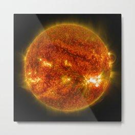 Giant Sunspot Metal Print