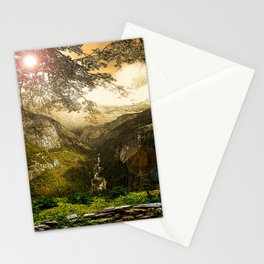 Through the Merced Gorge Stationery Cards