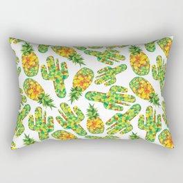 Cactus & Pineapple Rectangular Pillow
