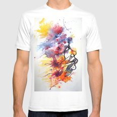 face2 Mens Fitted Tee White MEDIUM