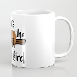 I Ate The Early Bird Sleeping Sloth Chill Out Morning Grouch Slugabed Coffee Mug
