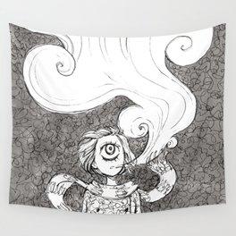 Winter Smoke Wall Tapestry
