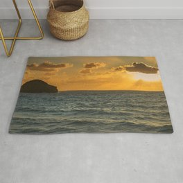 Another Sunset in Cornwall Rug