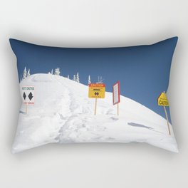 Signs Of Danger Rectangular Pillow
