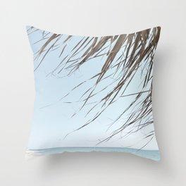 Beach spirit Throw Pillow