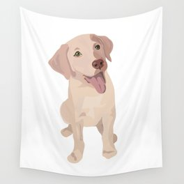 Golden (Lab) Girl Wall Tapestry