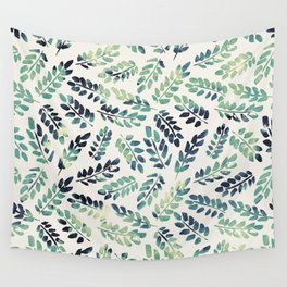 Leaves Pattern 4 Wall Tapestry