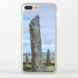 Ring of Brodgar Clear iPhone Case
