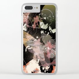 Almost a Flower Clear iPhone Case