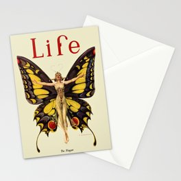 The Flapper by F.X. Leyendecker - Life Magazine Cover Art Print Stationery Cards