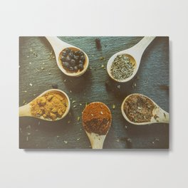 Herb and Spices. Metal Print