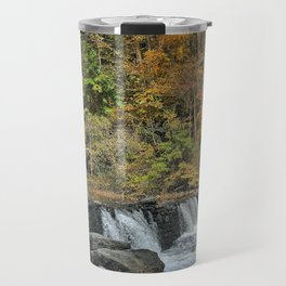 Fall Falls Travel Mug