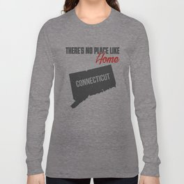 No place like home - Connecticut Long Sleeve T-shirt