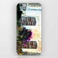 doors iPhone & iPod Skins featuring doors by  Agostino Lo Coco