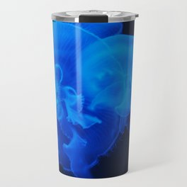 Blue Jelly Fish Travel Mug