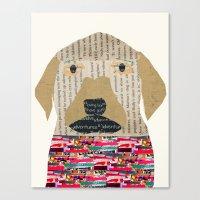 labrador Canvas Prints featuring the labrador by bri.buckley