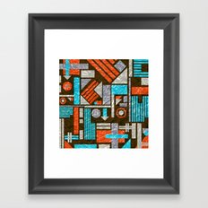 American Confusion Framed Art Print