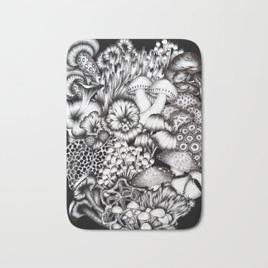 Midnight Mushrooms Bath Mat