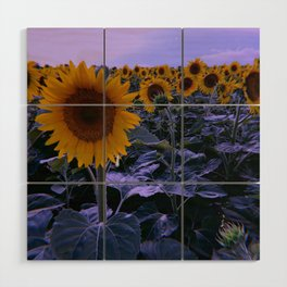 sunflower wonderland Wood Wall Art