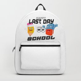 Happy Last Day of School Backpack
