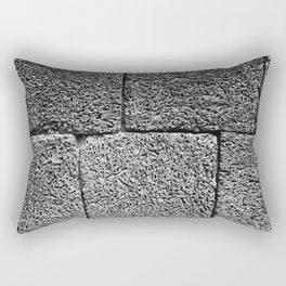 Temple Wall Rectangular Pillow