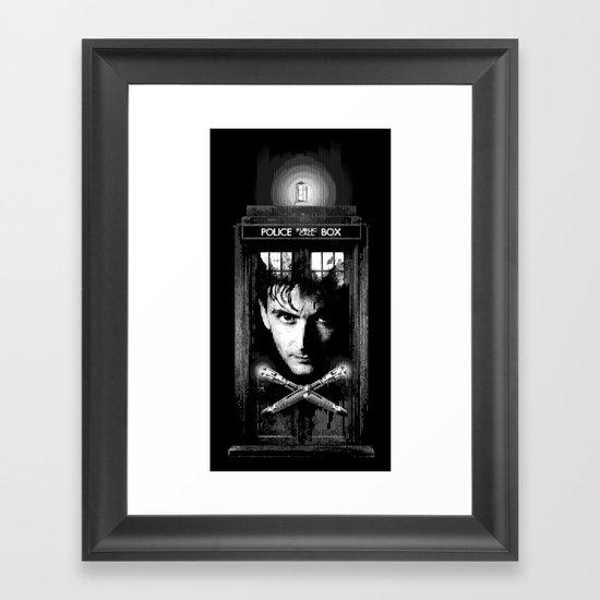 David the Tenth Doctor Framed Art Print