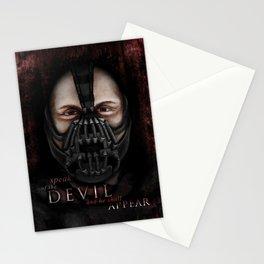 Bane Portrait Stationery Cards