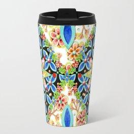 Elizabethan Blossom Starburst Travel Mug