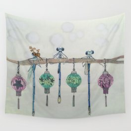Office Party Wall Tapestry