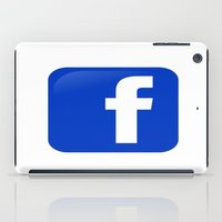 facebook iPad Cases featuring FACEBOOK  by I Love Decor
