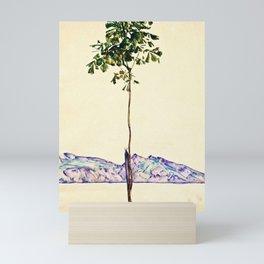 Egon Schiele -Little Tree Mini Art Print