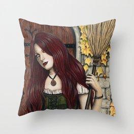 Season of the Witch Throw Pillow