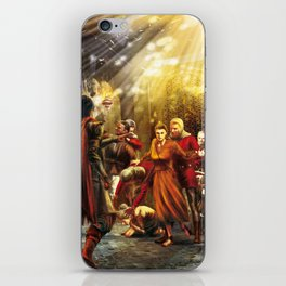 The wailing of the nightingale iPhone Skin