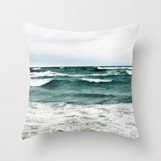 Turquoise Sea #1 Throw Pillow
