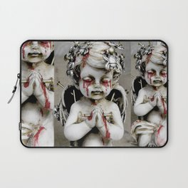 Massacred Angel: mixing Heaven with Hell. Laptop Sleeve