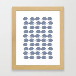 Hedgehogs Framed Art Print