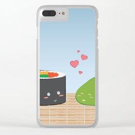 Sushi Love Clear iPhone Case