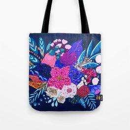 Jewel Bouquet Tote Bag