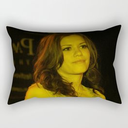 Bethany Joy Galeotti - Celebrity Rectangular Pillow