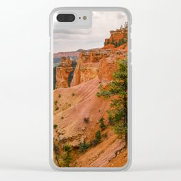 Beautiful Agua Canyon Landscape at Bryce Canyon National Park Clear iPhone Case