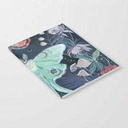 Luna Moth Notebook