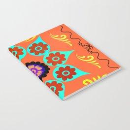 Talavera Tile Orange Notebook
