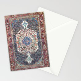 Bakhtiari Central Persian Rug Print Stationery Cards