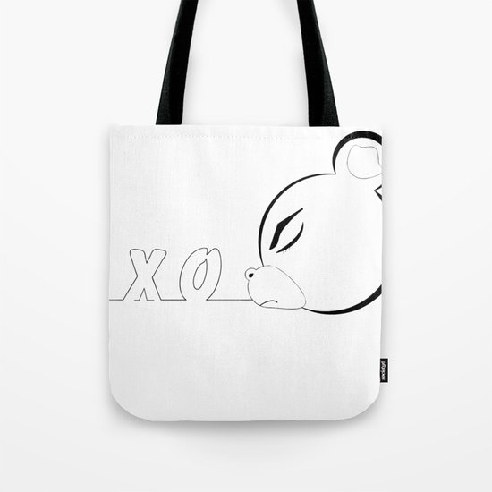 x_o bear Tote Bag