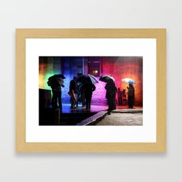 Rainbowed Framed Art Print
