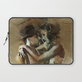Bonnie and Clyde Laptop Sleeve