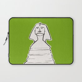 The great sphinx of Giza Laptop Sleeve