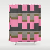 castle Shower Curtains featuring castle by Georgiana Paraschiv